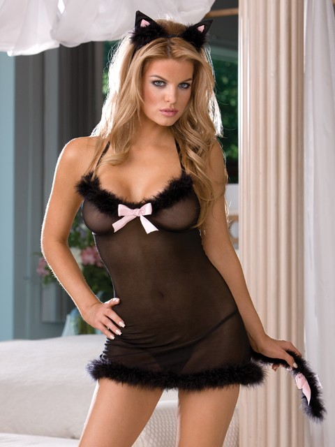 Frisky Kitty 3 PC Sexy Set
