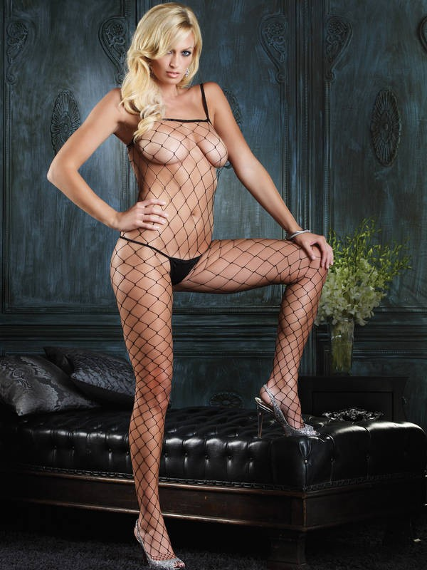Fence Net Bodystocking
