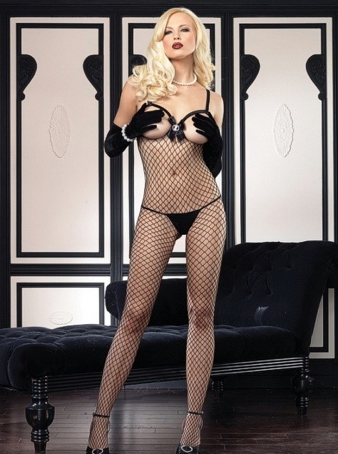 Open Cup Bodystocking