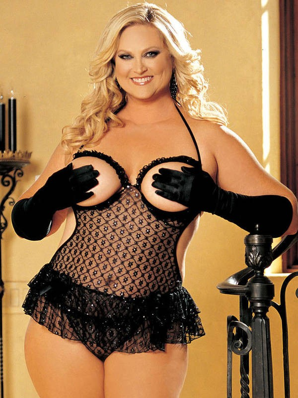 Plus Size Cupless Chemise