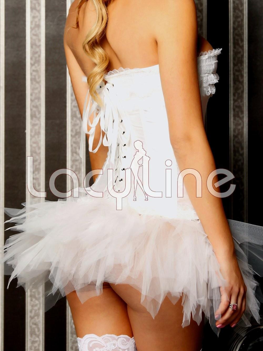 Layered Asymmetrical Petticoat