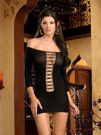 Two Way Sheer Dress Set