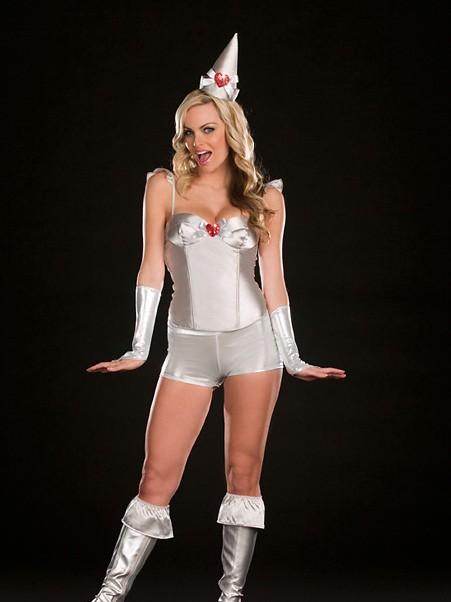 Tintillating Woman 8 PC Costume