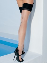 Plus Size Cuban Heel Stockings