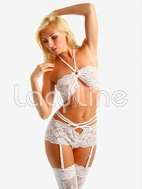 Lace Strappy 2 PC Set