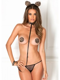 Animal Instinct 4 PC Set