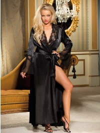 Hollywood Glamour Charmeuse Robe