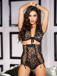Retro Sexy Lace 2 PC Set