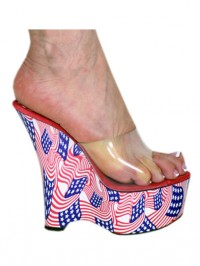 "5"" American Flag Wedge Made In USA"