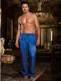 Satin Drawstring Pants