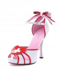 """JACKIE 4"""" Nurse Sandals"""