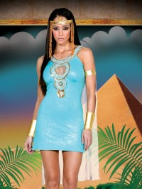 QUEEN OF DA NILE  6 PC Costume