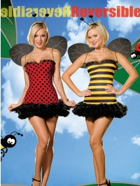 Reversible Bee/Ladybug 3 PC Costume