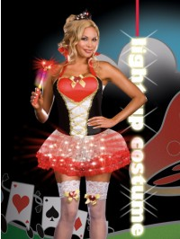 Queen of Heartbreakers Light Up 5 PC Costume