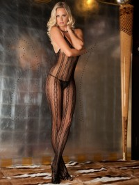 Crotchless Seductive Lace Bodystocking
