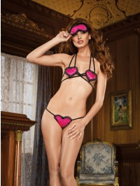 Blinded By Love 3 PC Sexy Set