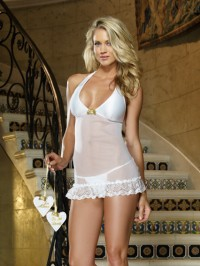 Just Married 3 PC Chemise Set