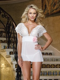 Lace Band Babydoll 2 PC Set