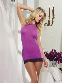 Open Back Chemise Set
