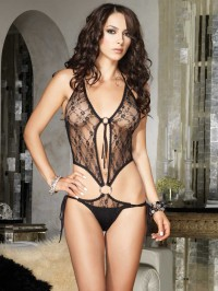 Lace O-Ring Teddy