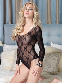Bow Lace Teddy