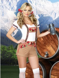 Ledermyhosen 5 PC Costume