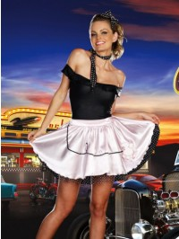 Fabulous 50's 5 PC Costume