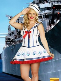 Light Up Anchor Management 2 PC Costume