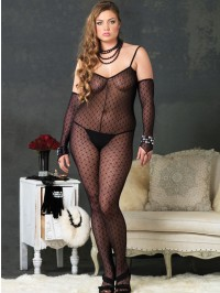 Mini Daisy Bodystocking With Gloves