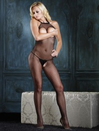 Open Bust And Crotch Bodystocking