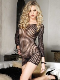 Crochet Net Dress