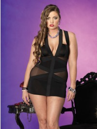 Strappy Band 2 PC Dress Set