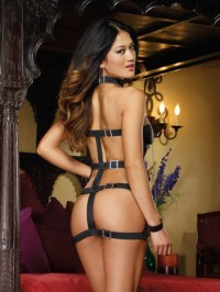 Strappy Back  Sexy 3 PC Set