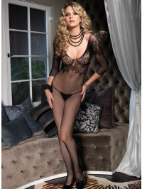 Lace Bodice Bodystocking