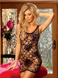 Strappy Chemise With Hearts