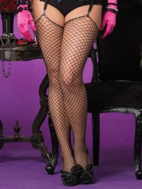Plus Size Industrial Net Stockings