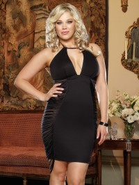 Plus Size Fringe Club Dress