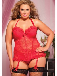 Some Like It Hot Bustier Set