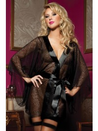 Secret Affair Lace Robe