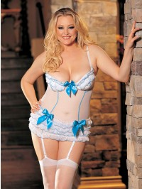 Ruffles And Bows 3 PC Set With Stockings