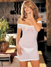 """Please Me""  Stretch Chemise"