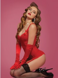 Cupid's Bow Bustier 2 PC Set