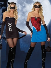 Kitty to Spider 7 PC Costume