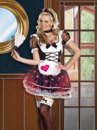 Maid Mimi Amore Light Up 3 PC Costume