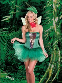 Humming Bird Hottie 5 PC Costume