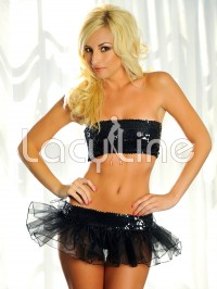 Sequin Tutu Skirt Set