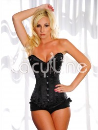 Steel Boned Deep Plunge Corset