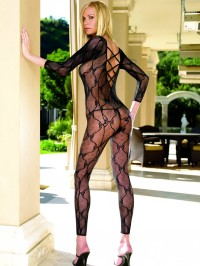 Lace Footless Bodystocking