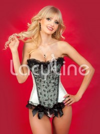 Flirty Bows Corset Set