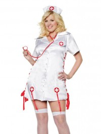 Nurse Nicky 4 PC Costume